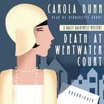 Death at Wentwater Court by  Carola Dunn audiobook
