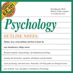 Psychology by  Don Baucum PhD audiobook