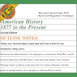 American History, 1877 to the Present, Second Edition by  Mary Jane Capozzoli Ingui PhD audiobook