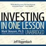 Investing in One Lesson by  Mark Skousen audiobook