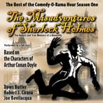 The Misadventures of Sherlock Holmes by  Robert J. Cirasa audiobook