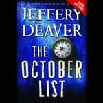The October List by  Jeffery Deaver audiobook