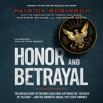 Honor and Betrayal by  Patrick Robinson audiobook