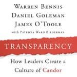 Transparency by  James O'Toole audiobook