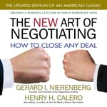 The New Art of Negotiating by  Gerard I. Nierenberg audiobook