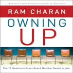 Owning Up by  Ram Charan audiobook