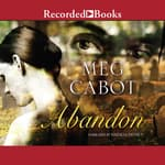 Abandon by  Meg Cabot audiobook