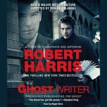 The Ghost Writer by  Robert Harris audiobook