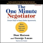 The One Minute Negotiator by  Kenneth Blanchard PhD audiobook
