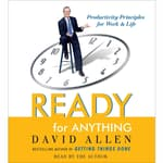 Ready for Anything by  David Allen audiobook