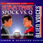 Spock Vs Q by  Leonard Nimoy audiobook