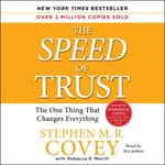 The SPEED of Trust by  Stephen M. R. Covey audiobook