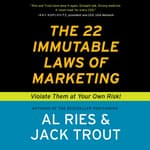 The 22 Immutable Laws of Marketing by  Jack Trout audiobook