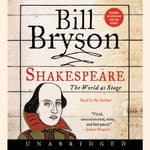 Shakespeare by  Bill Bryson audiobook