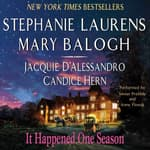 It Happened One Season by  Jacquie D'Alessandro audiobook