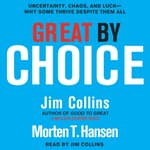Great by Choice by  Jim Collins audiobook