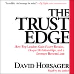 The Trust Edge by  David Horsager audiobook