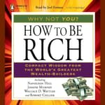 How to Be Rich by  Wallace D. Wattles audiobook