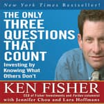 The Only Three Questions That Count by  Jennifer Chou audiobook