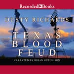 Texas Blood Feud by  Dusty Richards audiobook
