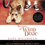 Because of Winn-Dixie by  Kate DiCamillo audiobook