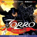 Zorro Rides Again by  D. J. Arneson audiobook