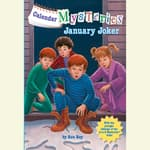 Calendar Mysteries #1: January Joker by  Ron Roy audiobook