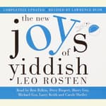 The New Joys of Yiddish by  Leo Rosten audiobook