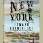 New York: The Novel by  Edward Rutherfurd audiobook