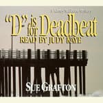 D Is for Deadbeat by  Sue Grafton audiobook