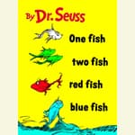 One Fish Two Fish Red Fish Blue Fish by  Dr. Seuss audiobook