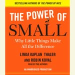 The Power of Small by  Linda Kaplan Thaler audiobook
