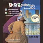 A to Z Mysteries: Books O-R by  Ron Roy audiobook