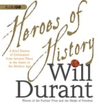 Heroes of History by  Will Durant audiobook