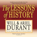 The Lessons of History by  Will Durant audiobook