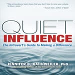 Quiet Influence by  Jennifer Kahnweiler  PhD audiobook