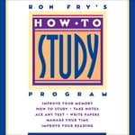 How to Study Program by  Ron Fry audiobook