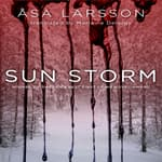 Sun Storm by  Åsa Larsson audiobook