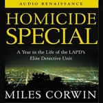 Homicide Special by  Miles Corwin audiobook
