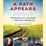 A Path Appears by  Sheryl WuDunn audiobook
