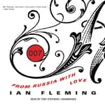 From Russia with Love by  Ian Fleming audiobook