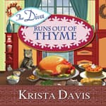 The Diva Runs Out of Thyme by  Krista Davis audiobook