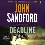 Deadline by  John Sandford audiobook