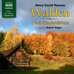 Walden, and Civil Disobedience by  Henry David Thoreau audiobook