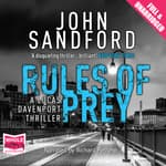 Rules of Prey by  John Sandford audiobook