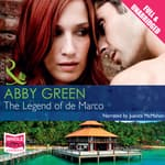 The Legend of de Marco by  Abby Green audiobook