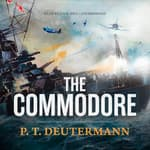The Commodore by  P. T. Deutermann audiobook