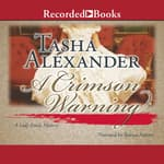 A Crimson Warning by  Tasha Alexander audiobook