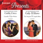 Castelli's Virgin Widow & The Surprise De Angelis Baby by  Caitlin Crews audiobook