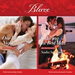 One Blazing Night & Seducing the Best Man by  Jo Leigh audiobook